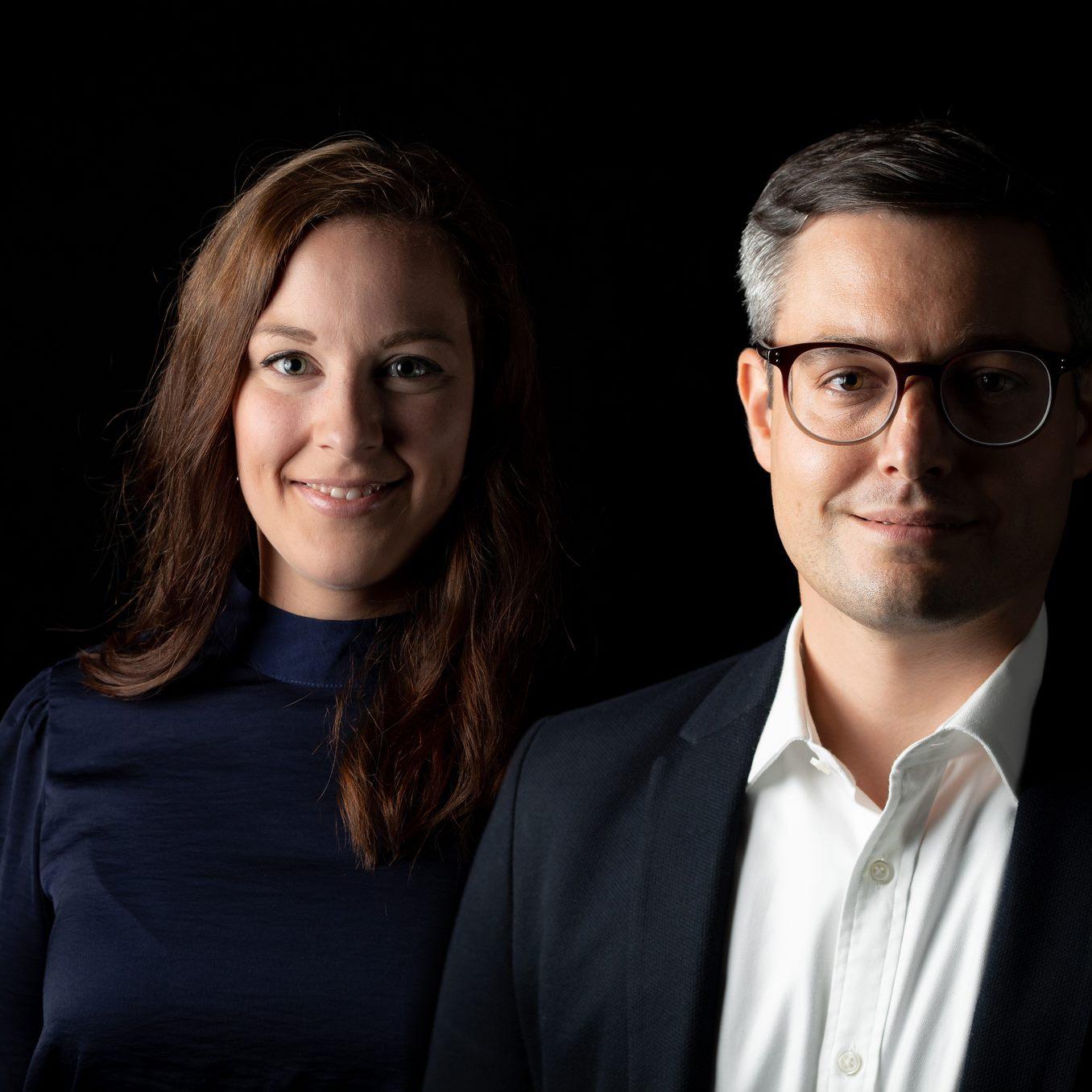 Ramona Bischoff und Samuel Gerber